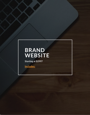 Rufus Burns - Brand Website Service